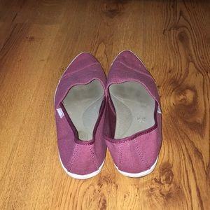 Sanuk Shoes - Sanuk burgundy shoes size 9
